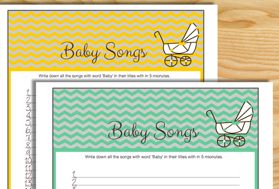 """How many songs can you name with """"Baby"""" in the title? Game"""