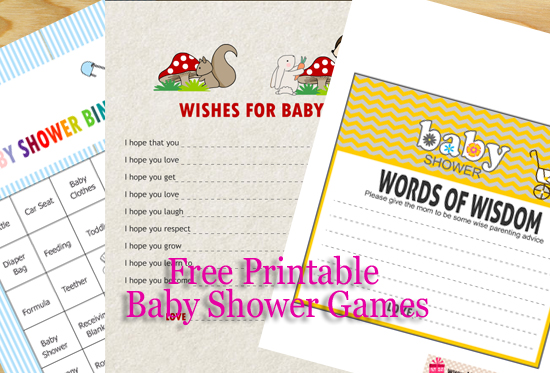 Here Is A List Of Free Printable Baby Shower Games That I Am Offering On This Website