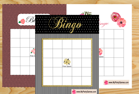 Free Printable Bridal Shower Gift Bingo Cards