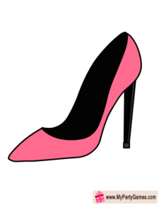 Fashionista Shoe 2, Bridal Shower Photo Booth Prop