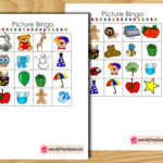 Free Printable Picture Bingo Game for Kids