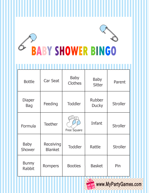picture regarding Printable Baby Shower Bingo named Absolutely free Printable Youngster Shower Bingo Sport Playing cards