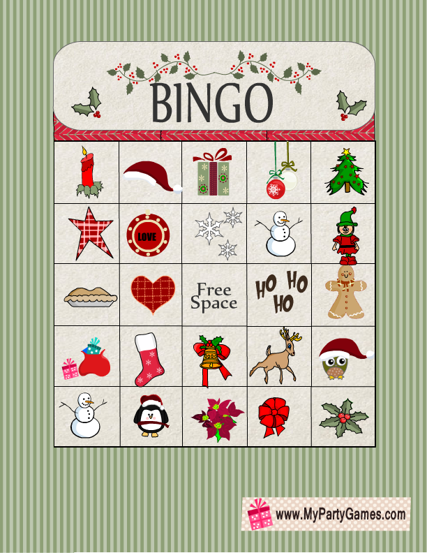 graphic relating to Free Printable Christmas Bingo Cards for Large Groups identify Totally free Printable Xmas Bingo