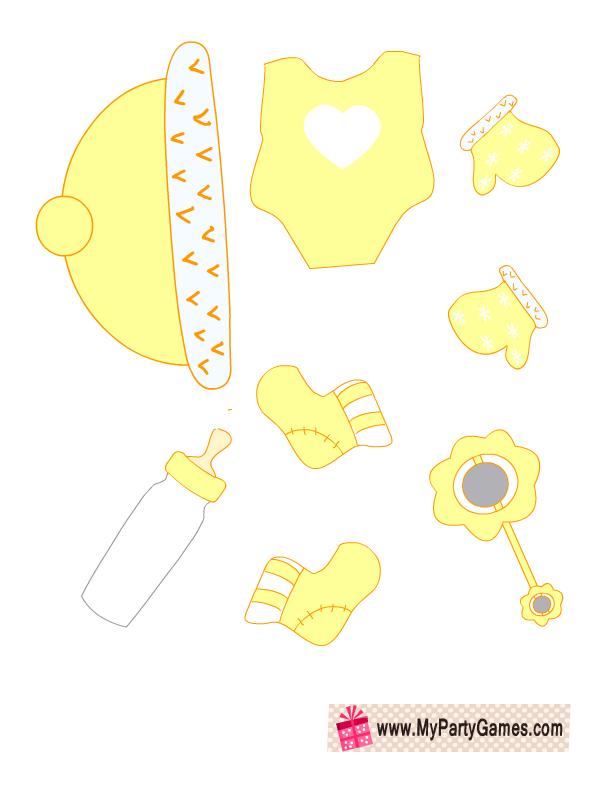 Free Printable Baby Dress Up Game