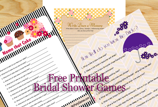 free printable birthday baby shower christmas bridal shower party games