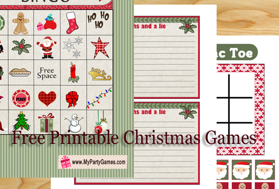 image about Free Printable Christmas Games for Adults named 20+ No cost Printable Xmas Game titles