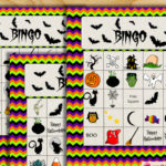 Free Printable Halloween Picture Bingo Game