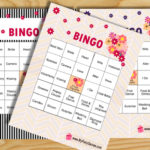 Free Printable Bridal Shower Bingo Game Cards