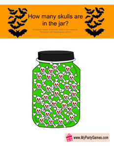 How many Skulls are in the Jar?