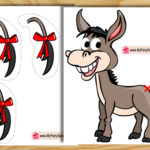 Pin the Tail on Donkey Game { Free Printable }