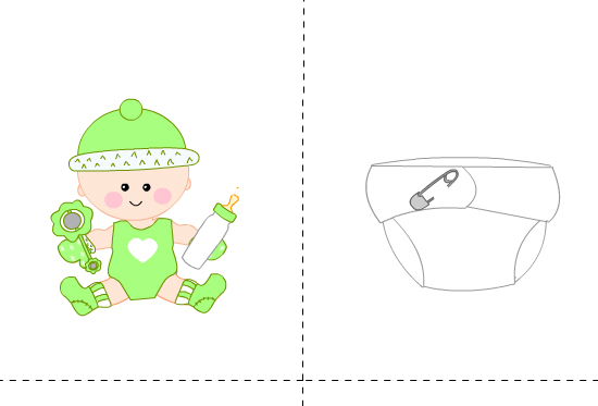 Free Printable Who got the Baby Game
