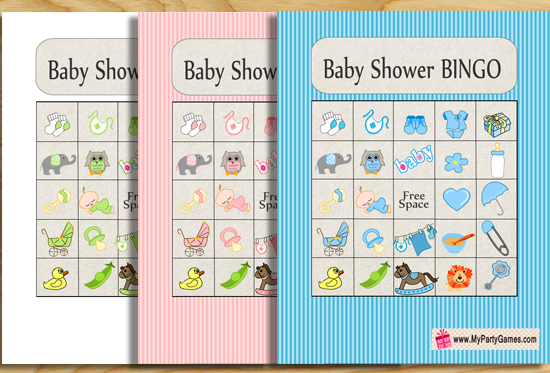 photograph relating to Printable Baby Shower Bingo known as Youngster Shower Consider Bingo Activity