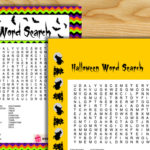 Free Printable Halloween Word Search Game