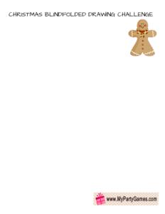 Draw a Gingerbread-Man