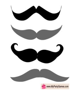 Moustaches Props