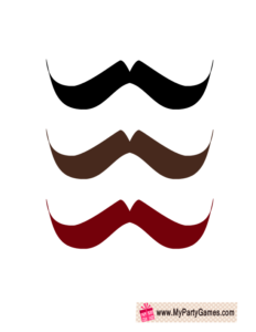 Moustaches Photo Booth Prop