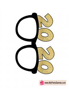 2020 Sun Glasses Prop