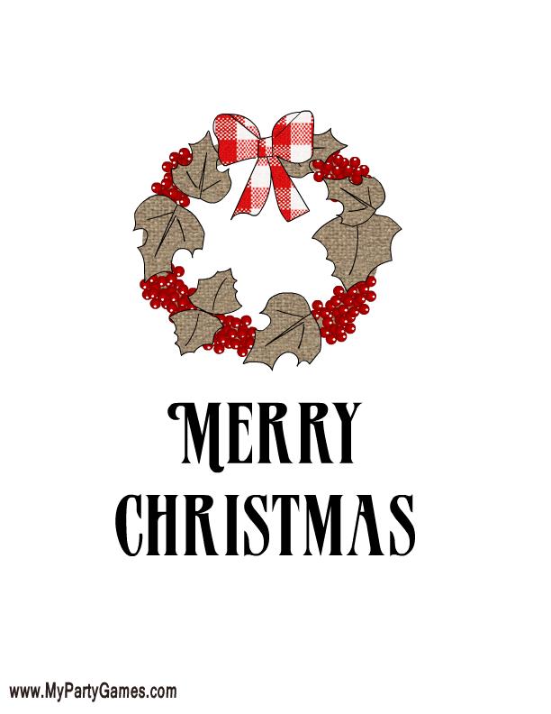 free printable christmas art