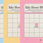Baby Shower Gift Bingo Game - Free Printable