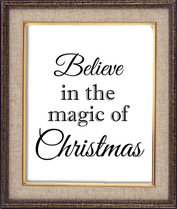 Free Printable Christmas Art