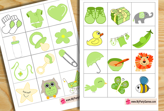 27 Free Printable Baby Shower Games