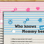 Who Knows Mommy Best? - Free Printable Baby Shower Game
