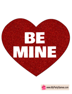 Be mine prop