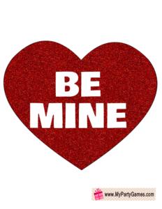 Be mine prop