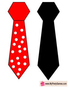 Neck Ties Photo Booth Props for Valentine's Day
