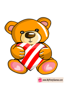 Teddy Bear Photo Booth Prop