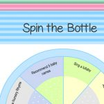 Free Printable Spin the Bottle Baby Shower Game