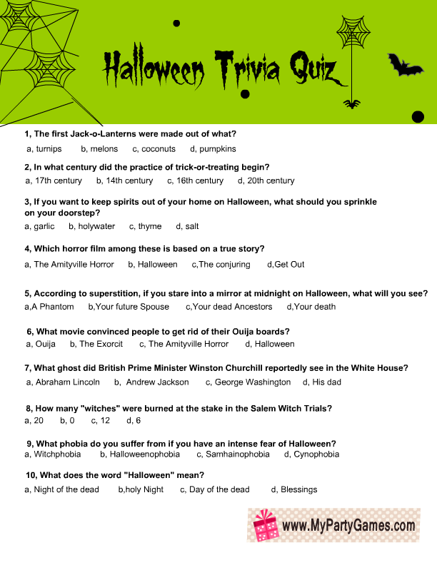 It's just a graphic of Playful Free Printable Trivia Questions and Answers