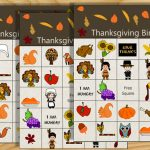 Free Printable Thanksgiving Picture Bingo Game
