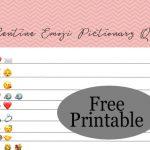Free Printable Valentine's Day Emoji Pictionary Quiz