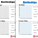 Free Printable Battleships Game for Kids