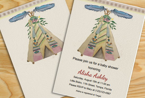 Free Printable Editable Floral Boho Baby Shower Party Invitation
