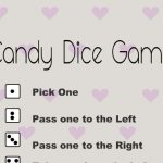 Free Printable Candy Dice Game for Kids