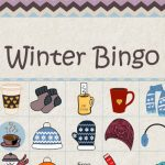 Free Printable Winter Picture Bingo Game