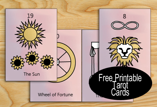 Free Printable Tarot Cards